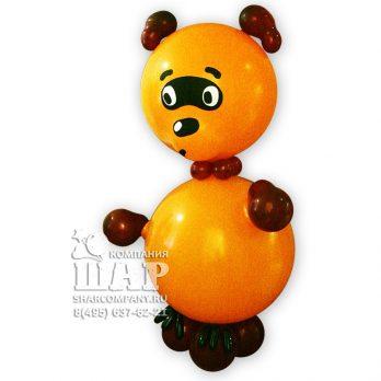 Фигура из шаров «Винни Пух Советский»
