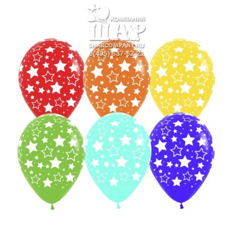 """Гелиевые шары """"Яркие звезды"""""""