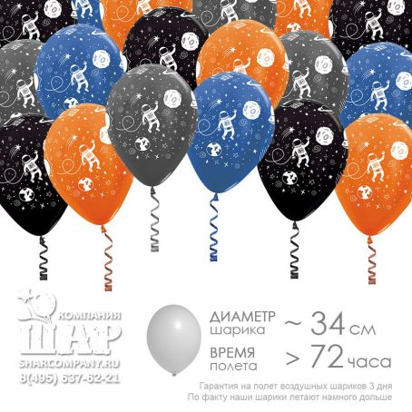 "Гелиевые шары ""Далекие планеты"""