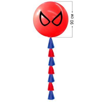 Большой шар «Человек паук»