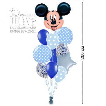 Букет из шаров «Веселый Микки»
