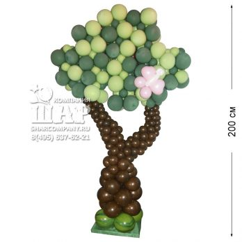 Фигура из шаров «Дерево малое»