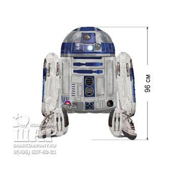 Ходячий шар «Звездные войны Робот R2D2»