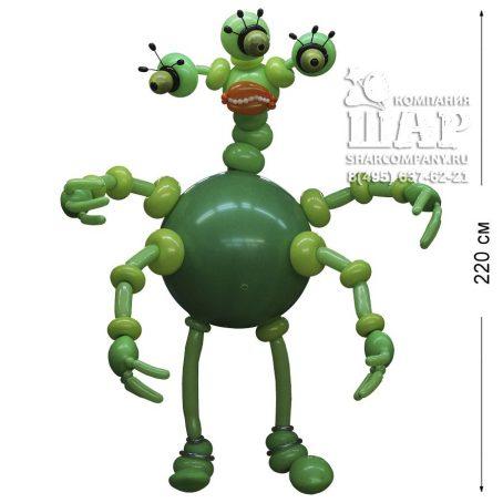 """Фигура из шаров """"Космическое чудовище"""""""