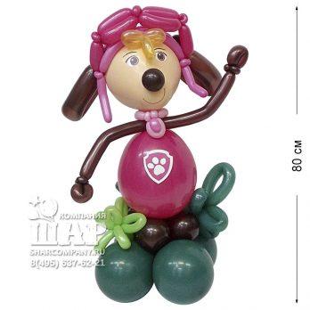 Фигура из шаров «Веселый щенок»