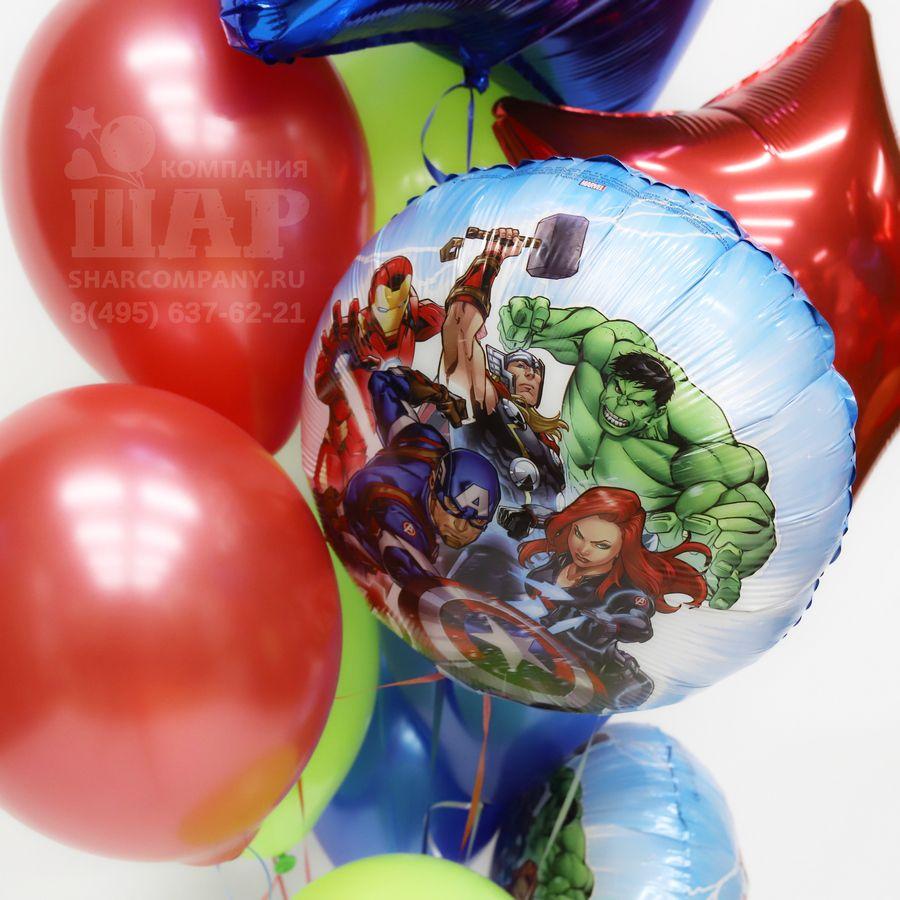 """Букет из воздушных шаров """"Мстители"""""""