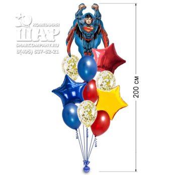 Букет из шаров «Супермен»