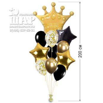 Букет шаров «Королевский»
