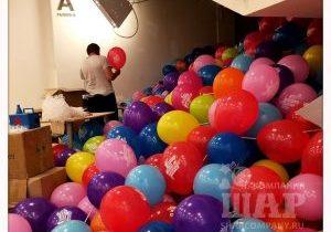 раздача воздушных шаров