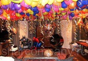 День рождения с супергероями!!!